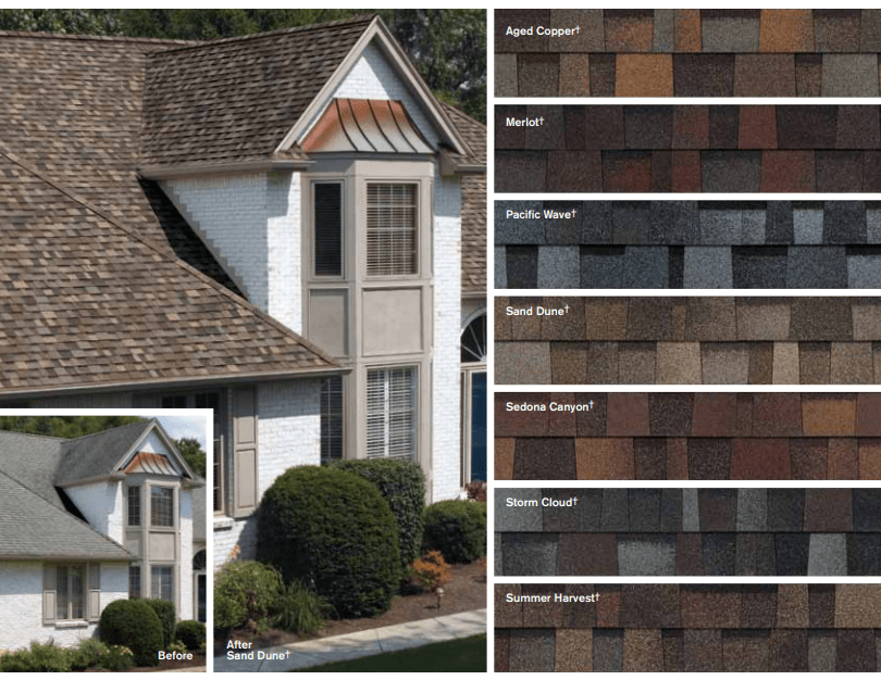 Asphalt Shingle Colors