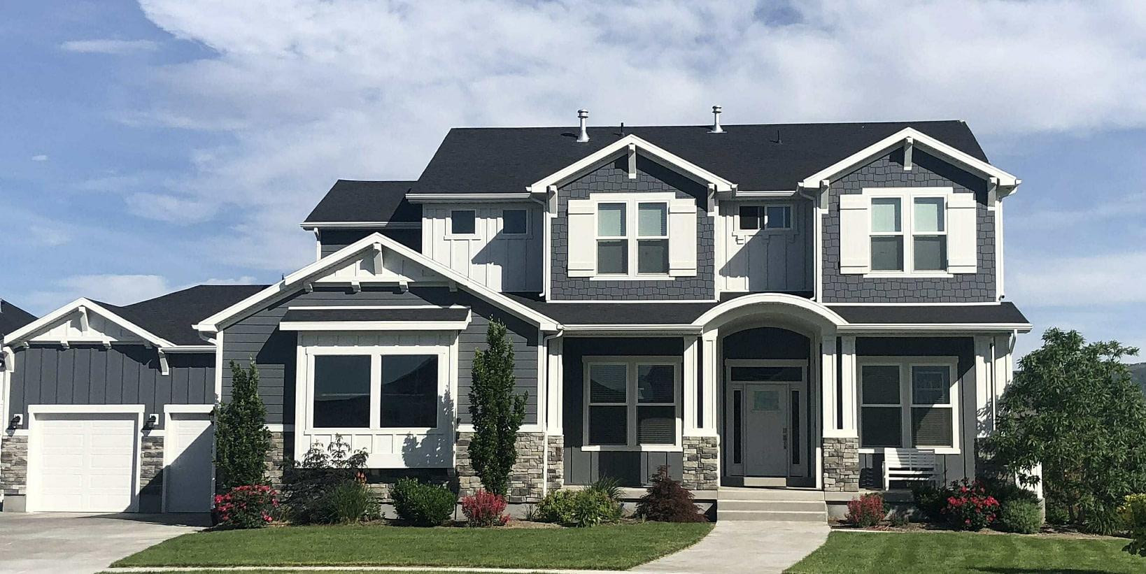 New Roof on Home in Alpine, Utah
