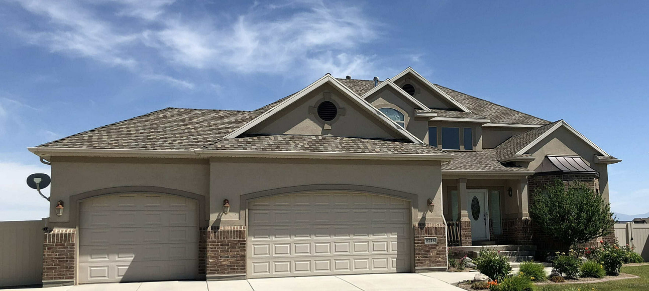 Roof on a Magna Home