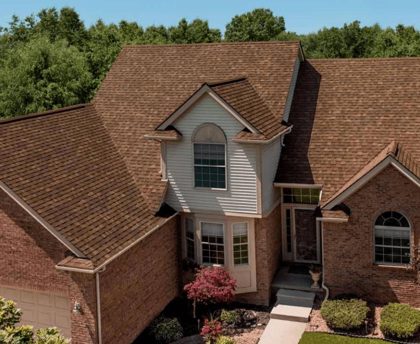 Aged Cedar Roof